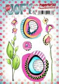 PaperArtsy Mounted Rubber Stamp Set JOFY Collection 75 - JOFY75
